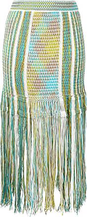 M Missoni Saia de tricô - Azul
