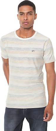 Yachtsman Camiseta Yachtsman Listrada Bege