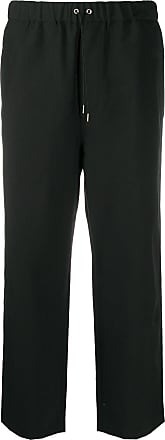 OAMC straight-leg drawstring trousers - Black