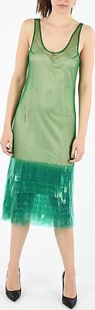 Dries Van Noten Slip Dress with Applications Größe L