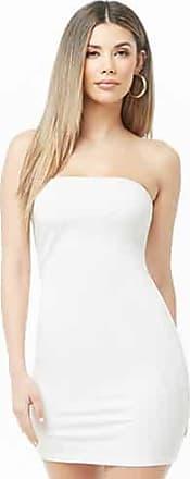 Forever 21 Forever 21 Mini Tube Bodycon Dress White
