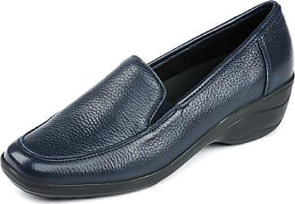 Details zu Rieker Damen comfort Schuhe Slipper blau Leder Halbschuhe NEU 36,37,38,39,40,42