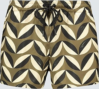Commas Pavilion tile swim shorts