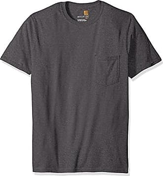 Gold Toe Mens Pocket T-Shirt, Heather Dark Grey, Large