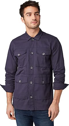 Tom Tailor Casual Mens 1009281 Jacket, Blue (Knitted Navy 10690), X-Large