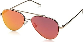 1665d87704e Steve Madden Womens Sm472123 Aviator Sunglasses Gold Purple 59 mm
