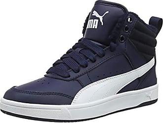 buy online 56e27 00d11 Puma Rebound Street V2 Fur, Baskets Hautes Mixte Adulte, Bleu (Peacoat  White 06