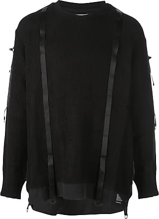 White Mountaineering Suéter clássico - Preto
