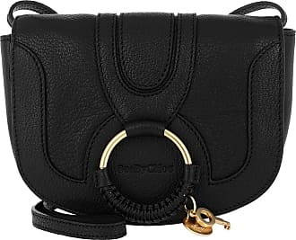 05b759cb70feb See By Chloé Hana Mini Crossbody Bag Smooth Black Umhängetasche schwarz
