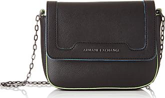 A X Armani Exchange Crossbody Bag Colorful, Womens Shoulder Bag, Black, 15x6.5x20 cm (B x H T)