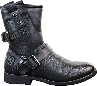 Black Biker Boots: 362 Products & up to −66% | Stylight