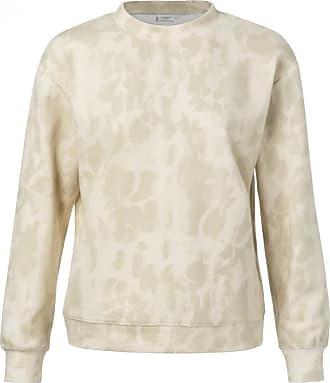 YaYa Yaya Cotton Sweat mit Batikdruck - cream | cotton | Large (UK12-UK14) - Cream