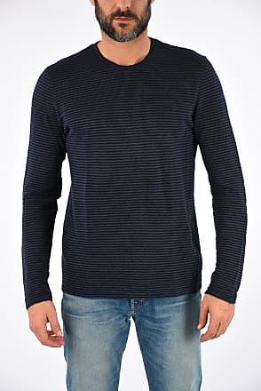 Roberto Collina Cotton Linen Striped Sweater size 50