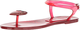 Katy Perry Womens The GELI Flat Sandal, Strawberry, 3 UK