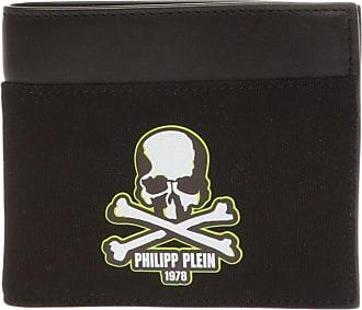 Philipp Plein Bifold Wallet Mens Black