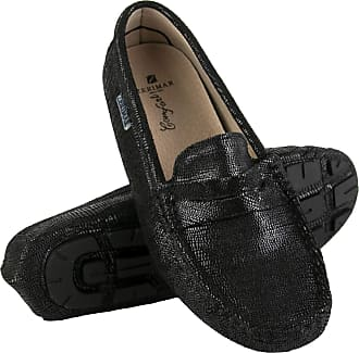 Zerimar Moccasins Womens Shoes | Loafers for Women | Leather Flats Women | Casual Moccasin Loafer Leather | Loafers Mocassins Elegant Womens Black