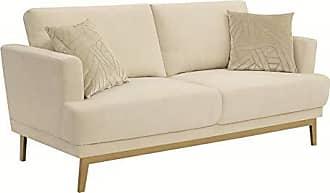 Coaster Fine Furniture Scott Living 506361 Margot Upholstered Sofa, Beige, Gold