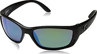 c1341396e6 Costa Costa del Mar Mens Fisch Polarized Iridium Oval Sunglasses