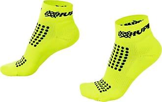 Hupi Meia para Corrida Hupi Running Pro Amarelo Neon - Curta, Cor: Amarelo Neon, Tamanho: Único