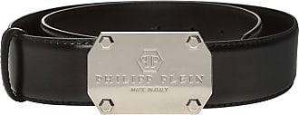 Philipp Plein Leather Belt Mens Black