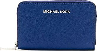 Michael Michael Kors Carteira de couro com logo - Azul