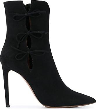 L'autre Chose Ankle boot com salto agulha - Preto