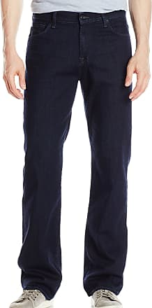 7 For All Mankind Mens Austyn Relaxed Straight Leg Jean, Offbeat Blue, 33
