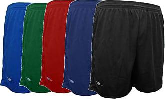 Generico Kit 5 Shorts Masculino Academia Futebol 38 ao 64 Plus Size (EG1)