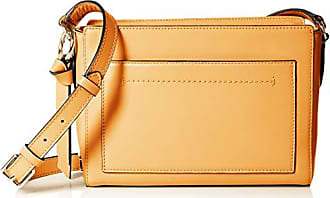 85fe1dcb6cc Cole Haan Womens Kaylee Leather Crossbody, Sunset Gold