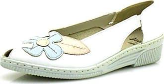 a5a4b9b356 Jenny by ara Peep Toes Slipper Ballerinas Comfortschuhe Lederschuhe Schuhe