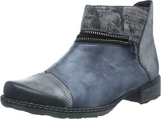 Remonte Womens D4361 Chelsea Boots, Grey (Negro/Ozean/Schwarz/Cigar 14), 6.5 UK