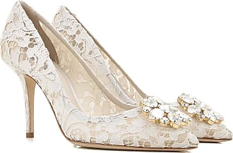 6688392b0 Dolce & Gabbana Pumps & High Heels for Women On Sale, Ice White, Lace