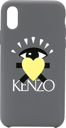 Kenzo Capa para iPhone X - Cinza