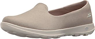Skechers Performance Womens Go Walk Lite-15411 Loafer Flat,taupe,6 M US