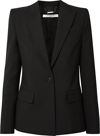 Givenchy Wool-crepe Blazer - Black