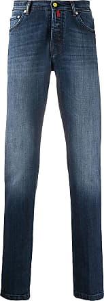 Kiton slim-fit jeans - Blue