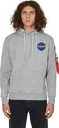 Alpha Industries Alpha industries Space shuttle hooded sweatshirt GREY HEATHER S