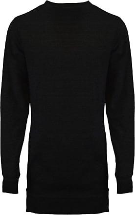 MALAIKA /® Mens Plain Classic Full Sleeve Jumper Sweatshirt Sweater Fleece Top Casual Work Leisure Sport Baseball Pull Over S-XXL