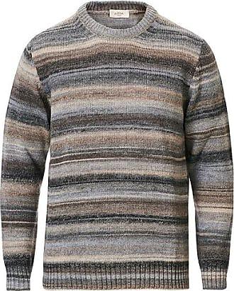 Altea Wool Blend Dégradé Sweater Grey