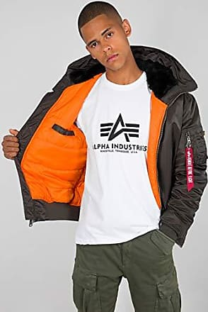 Alpha Industries Herren JackenWinterjacke 45P Hooded Custom