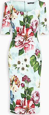 Dolce & Gabbana Vestito midi a fiori
