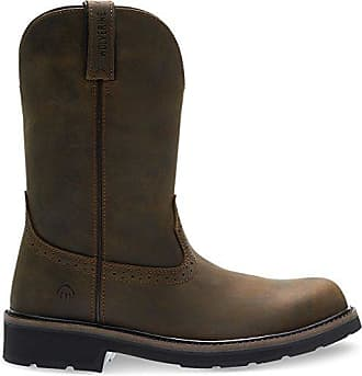 Wolverine Mens Ranchero Soft-Toe Wellington Construction Boot, Summer Brown, 10.5 Extra Wide US