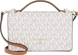 Michael Kors Cross Body Bags - Jet Set Charm Small TH Phone Crossbody Vanilla Acorn - beige - Cross Body Bags for ladies