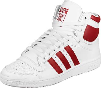 adidas Originals Mens Mens Top Ten Hi Trainers in White - UK 3.5