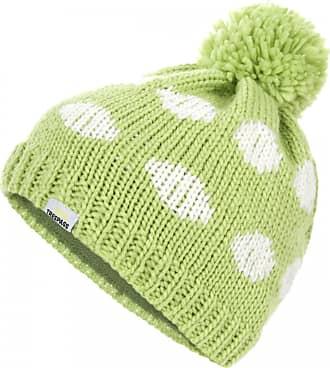Trespass Womens//Ladies Alisha Knitted Pom Pom Fleece Beanie Hat
