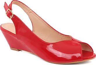 Unze Unze Women MARTHA Matt Finish Buckel Fastening Wedge Heel Sandals UK Size 3-8 - XY2017-2