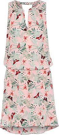 Joie Joie Woman Sabera Gathered Printed Silk Crepe De Chine Mini Dress Pink Size XXS