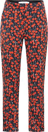 Victoria Beckham Cherry-print cigarette pants