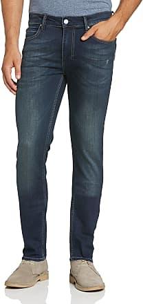Religion Mens Noize Skinny Jeans, Blue (Stereo Indigo.), W36/L32 (Size: 36.0)