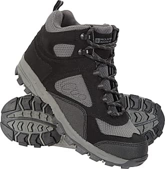 Mountain Warehouse McLeod Womens Comfortable Boots - Breathable Ankle Boots, Durable Hiking Boots, Padded & Lightweight Walking Shoes - Ideal for Trekking & Travelling B
